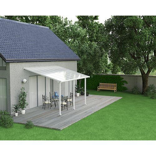 Olympia Patio Cover System 10 ft. x 14 ft. - White