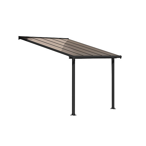 Olympia Patio Cover System 10 ft. x 10 ft. - Grey