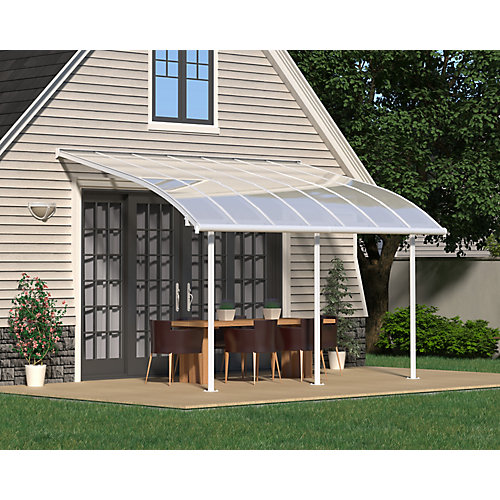 Joya Patio Cover System 10 ft. x 14 ft. - White