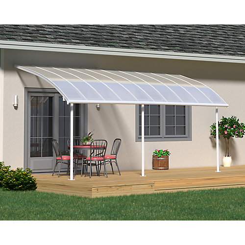 Joya Patio Cover System 10 ft. x 20 ft. - White