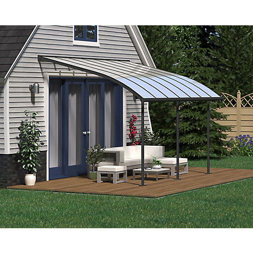 Joya Patio Cover System 10 ft. x 14 ft. - Grey