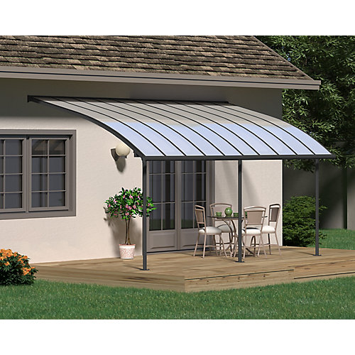 Joya Patio Cover System 10 ft. x 20 ft. - Grey