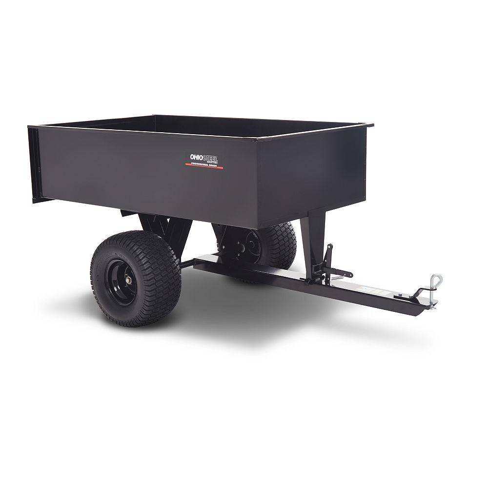 Ohio Steel 20 cu ft. Welded Steel Heavy Duty ATV Cart