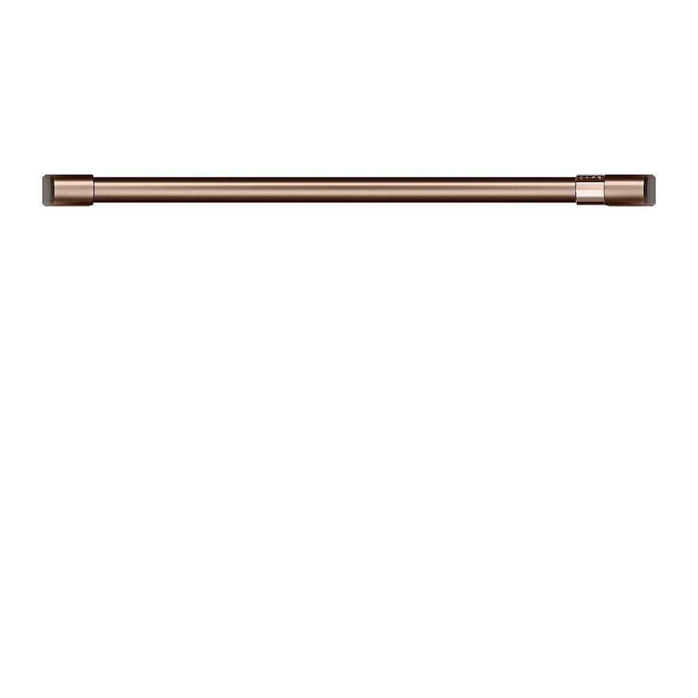 Café Poignée de four à simple paroi de 30 pouces en cuivre brossé