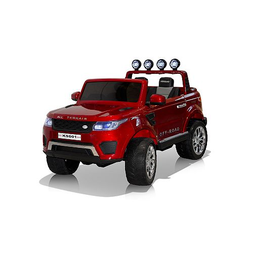 24V Ride on Hercules Pick up Truck - Red