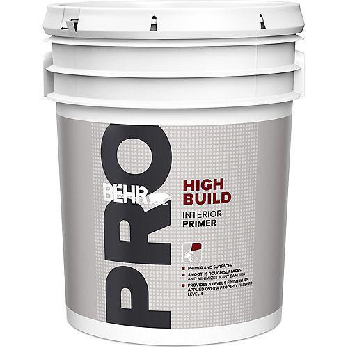 Behr Pro Interior High Build Primer, 18.9 L