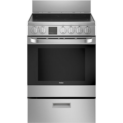 24-inch W 2.9 Cu. ft. Free-standing Electric Convection Range in Stainless Steel