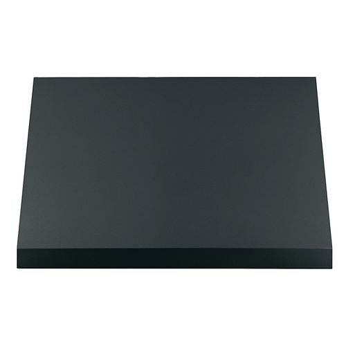 30 in. Avec lumière en noir mat, résistant aux empreintes digitales