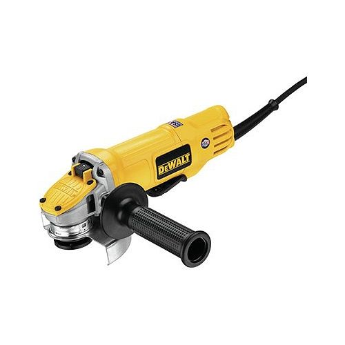 DEWALT 4-1/2-inch Angle Grinder 3,000rpm 9.0AC (Paddle Switch, Slim SAG, No Lock on Switch)