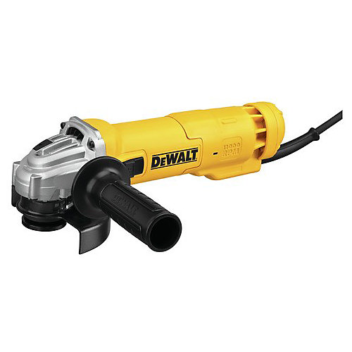 4-1/2-inch Angle Grinder 3,000rpm 3Amp AC/DC (Slide Switch)