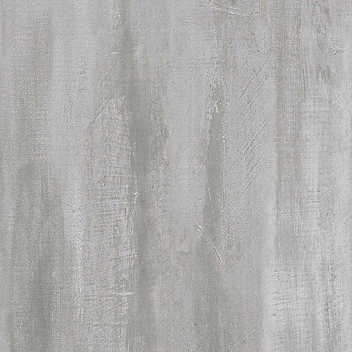 Échantillon - Planche de lattes, vinyle de luxe, 5 po x 6 po, opale en bandes