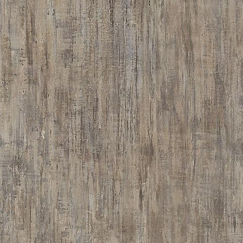 Sample - Brushed Chocolate Luxury Vinyl Flooring, 5-inch x 6-inch