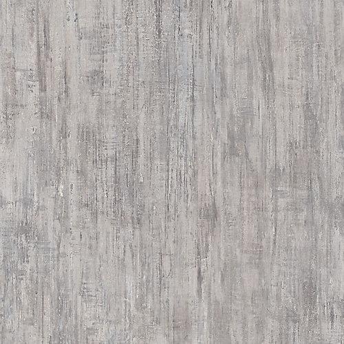 Sample - Brushed White Luxury Vinyl Flooring, 5-inch x 6-inch