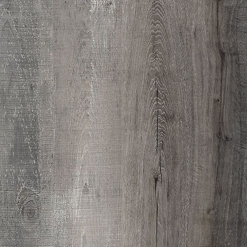 Lifeproof Sample - Distressed Wood Luxury Vinyl Flooring, 5-inch x 6-inch