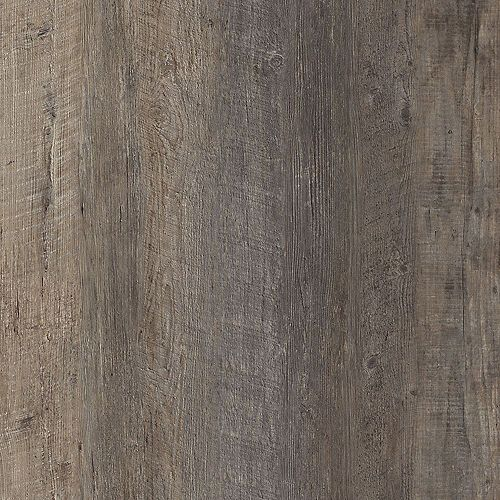Lifeproof Sample - Harrison Pine Dark Luxury Vinyl Flooring, 5-inch x 6-inch