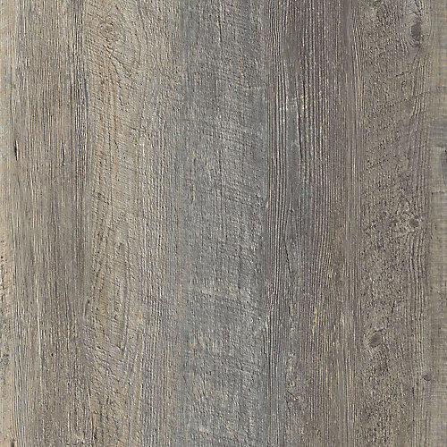 Échantillon - Planche de lattes, vinyle de luxe, 5 po x 6 po, pin Harrison Sienna