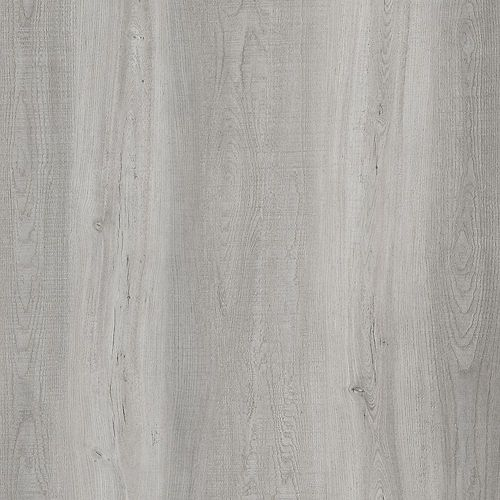 Sample - Light Grey Oak Luxury Vinyl Flooring, 5-inch x 6-inch