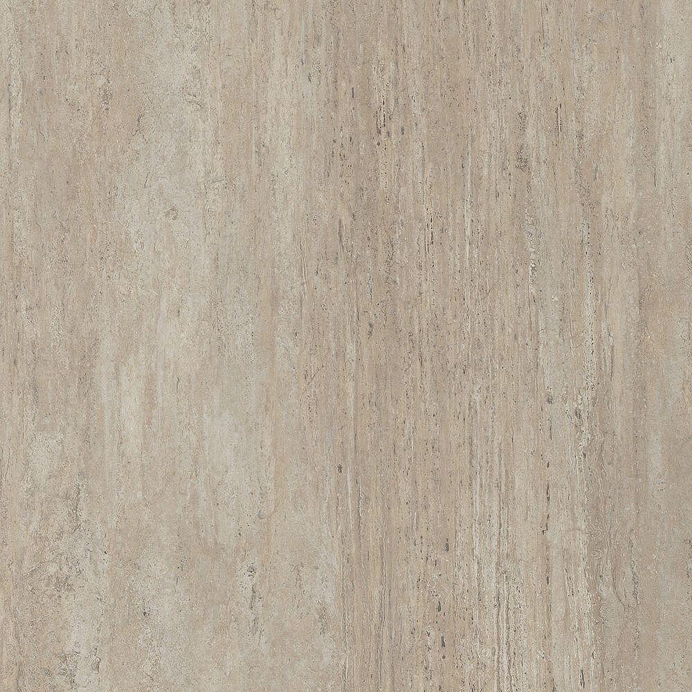 Lifeproof Sample - New Travertine Luxury Vinyl Flooring, 5-inch x 6-inch