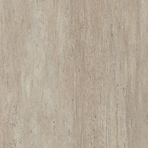 Sample - New Travertine Luxury Vinyl Flooring, 5-inch x 6-inch