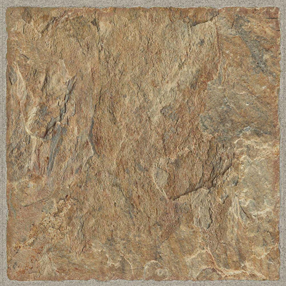 TrafficMASTER Sample - Red Rock Luxury Vinyl Flooring, 5-inch x 6-inch