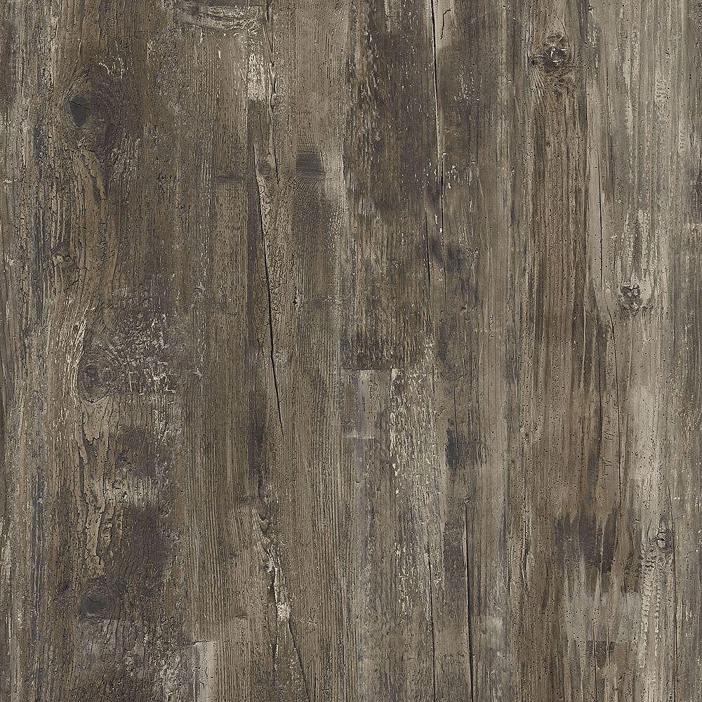 Lifeproof Sample - Thunder Wood Luxury Vinyl Flooring, 5-inch x 6-inch