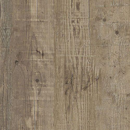 Sample - Valdosta Pine Greige Luxury Vinyl Flooring, 5-inch x 6-inch