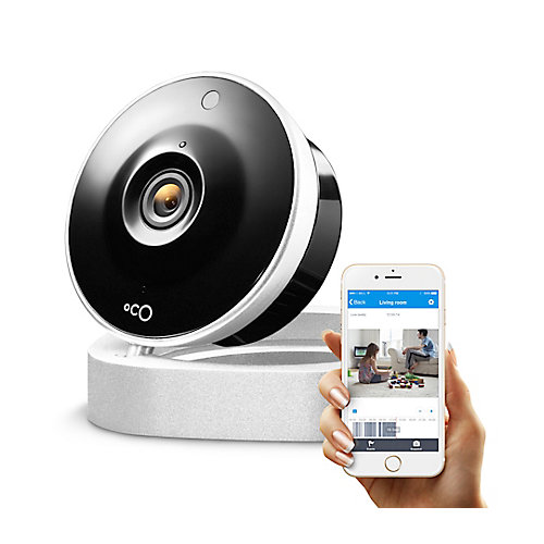 720p HD Indoor Security Camera Video Monitoring with Cloud Storage and Remote View