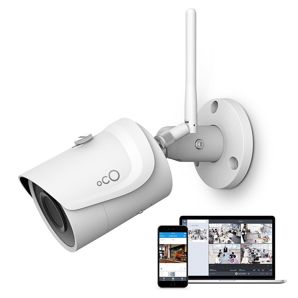Oco Pro Bullet 1080p HD Outdoor/Indoor Cloud Surveillance and Security Camera with SD Card / Cloud Storage
