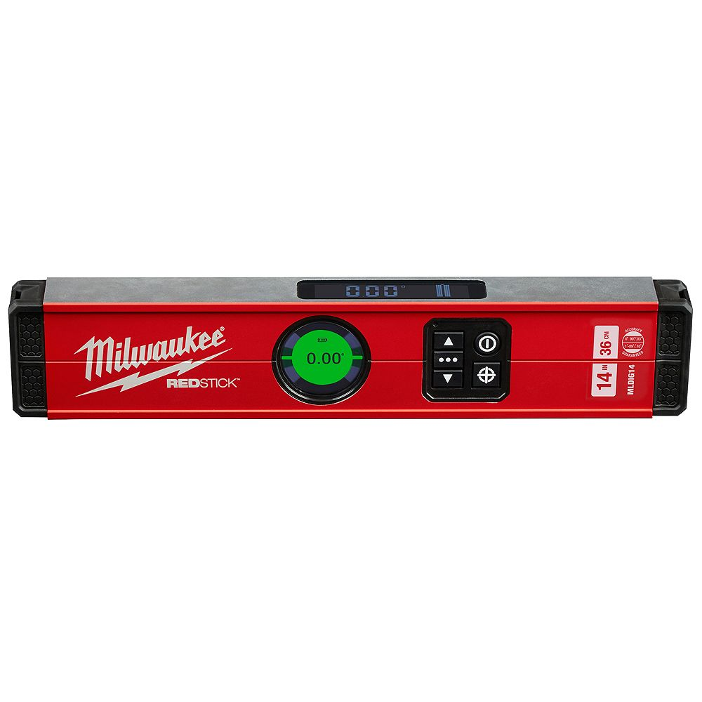 Milwaukee Tool 14-Inch REDSTICK Digital Level w/ PINPOINT Measurement Technology