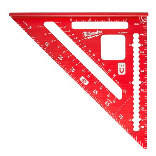 Milwaukee Tool 7-Inch Magnetic Rafter Square