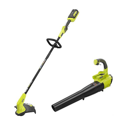 13-Inch 40V Cordless String Trimmer with Blower