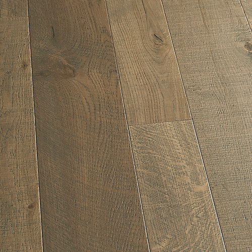 French Oak Half Moon 3/8-inch x 4 and 6-inch x Varying Length Click Hardwood Flooring (19.84 sq.ft./case)