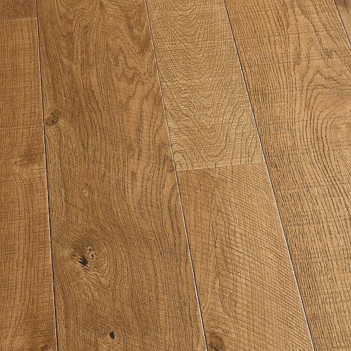 Plancher encliquet., bois d'ingén., 3/8 po x 4 po et 6 po x long. var., Chêne français Montara, 19,84 pi2/boîte