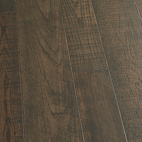 Hickory Carmel 3/8-inch x 4 and 6-inch x Varying Length Eng Click Hardwood Flooring (19.84 sq.ft./case)