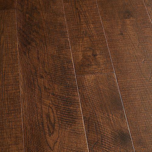 Plancher encliquet., bois d'ingénierie, 3/8 po x 4 po et 6 po x longeurs var., Caryer Sunset, 19,84 pi2/boîte
