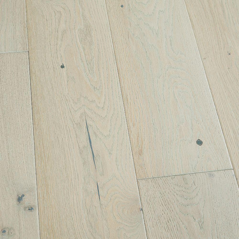 Malibu Wide Plank Revêt. sol bois franc emboît., chêne français Salt Creek, 3/8 x 6 1/2 po x long. var., 23,64 pi2/bte