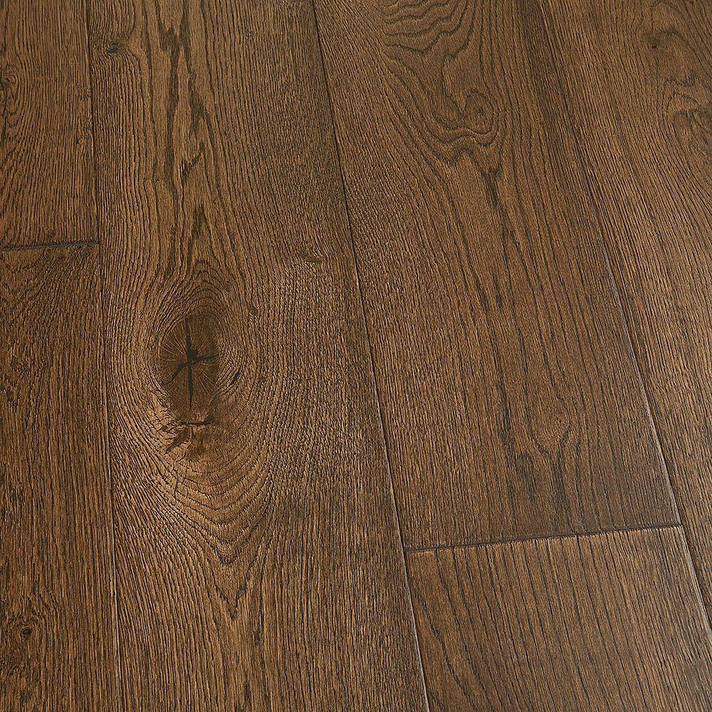 Malibu Wide Plank Revêt. sol bois franc emboît., chêne français Stinson, 3/8 x 6 1/2 po x long. var., 23,64 pi2/bte