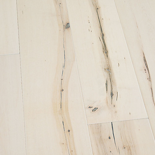 Maple Manhattan 3/8-inch Thick x 6-1/2-inch Wide x Varying Length Engineered Click Hardwood Flooring (23.64 sq. ft./case)