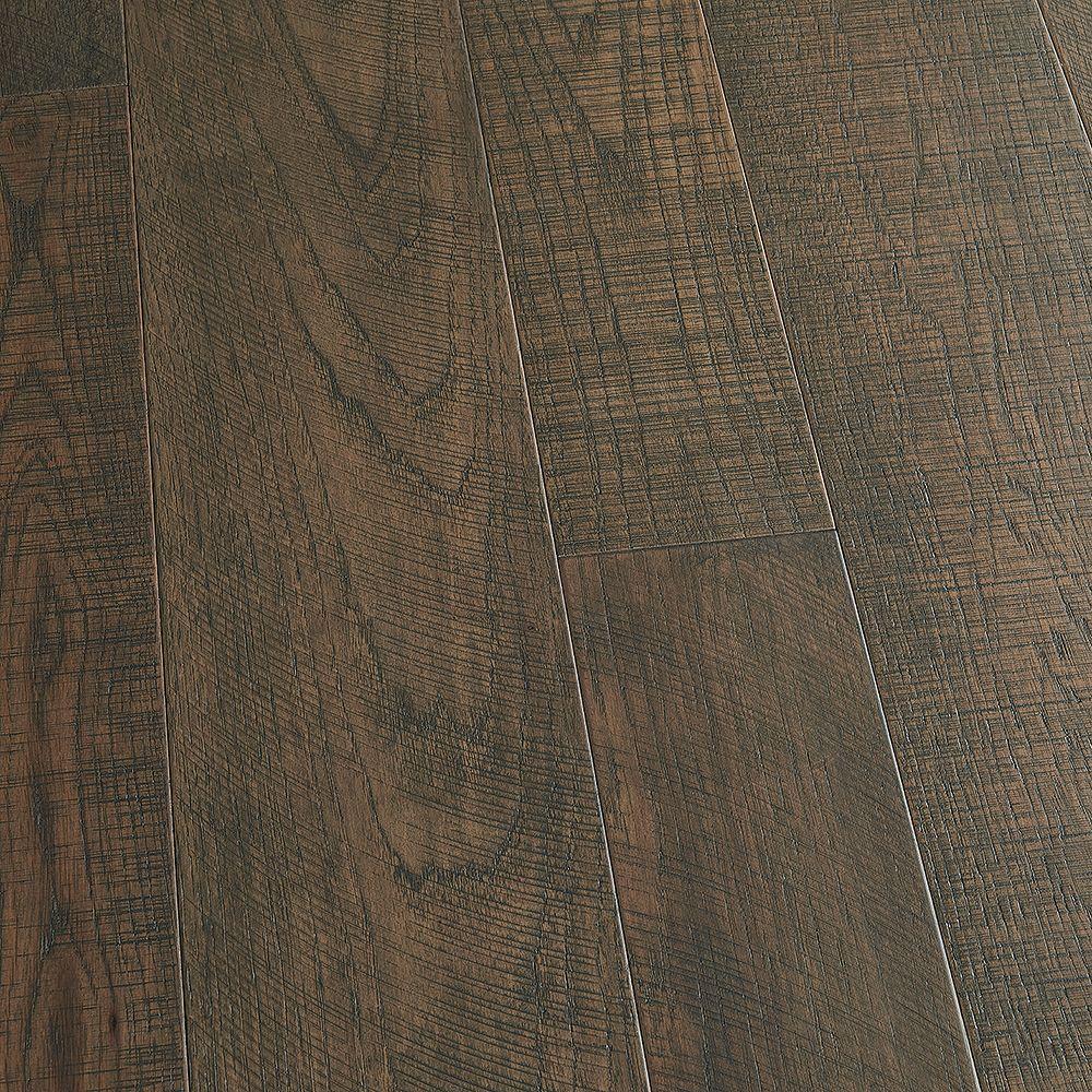 Malibu Wide Plank Plancher, bois d'ingénierie, 0,5 po x 5 po et 7 po x longeurs variées, Caryer Carmel, 24,93 pi2/boîte