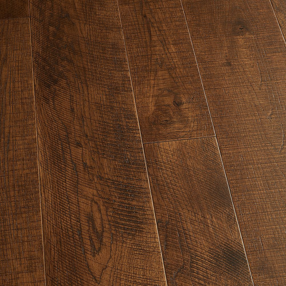 Malibu Wide Plank Hickory Sunset 1/2-inch x 5-inch and 7-inch x Varying Length Eng. Hardwood Flooring (24.93 sq.ft./case)