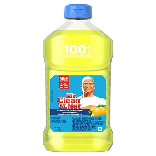 Mr. Clean M. Net Multi-Purpose Cleaner, Summer Citrus, 1.3 L