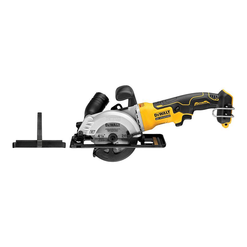 DEWALT ATOMIC 20V MAX Brushless Sub Compact Mini Circ Saw (Tool Only)