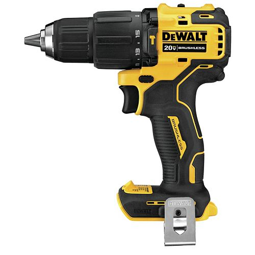 DEWALT 20V MAX ATOMIC Lithium-Ion Cordless Brushless Compact Hammer Drill/Driver (Tool-Only)