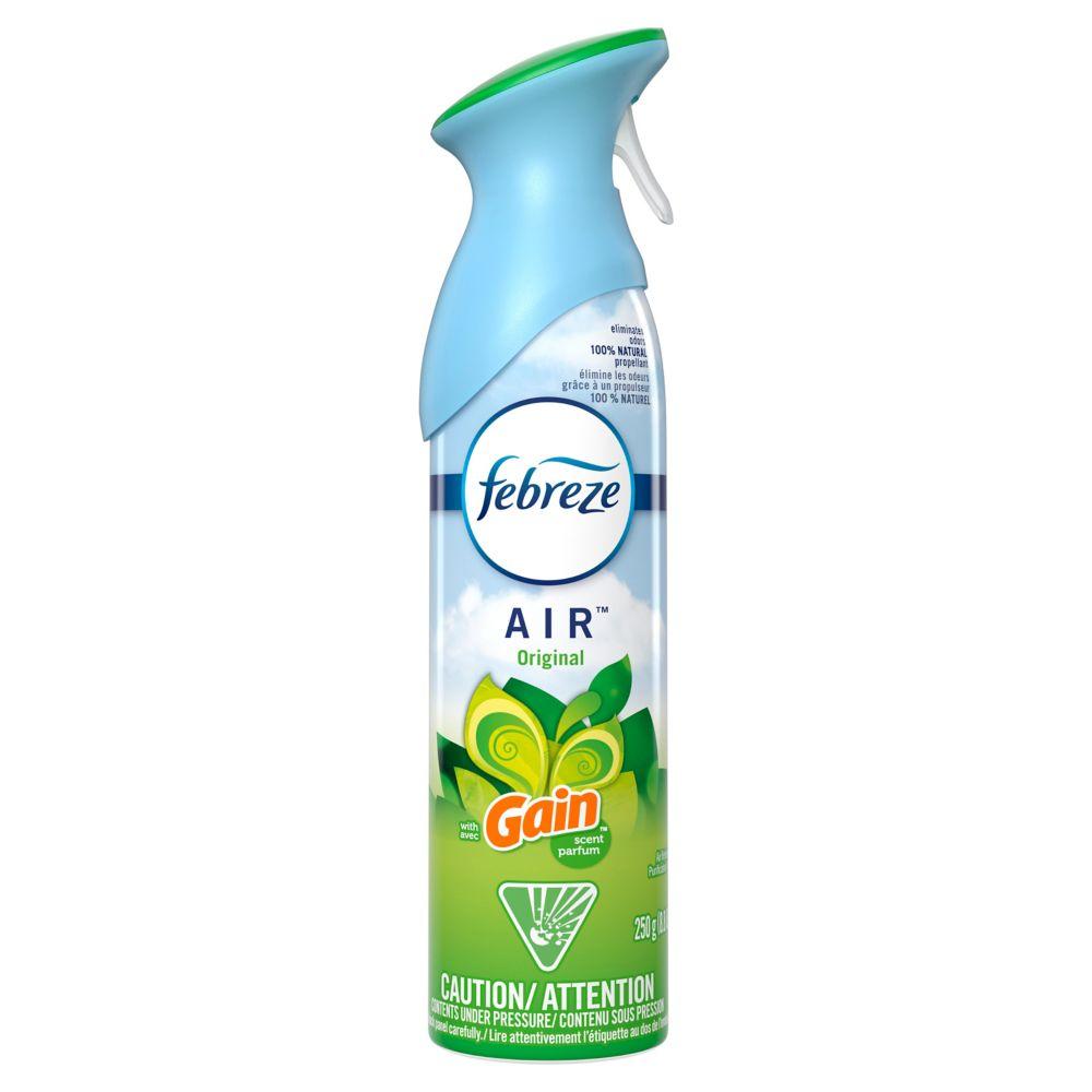 Odor-Eliminating Air Freshener with Gain Original Scent, 250 grams