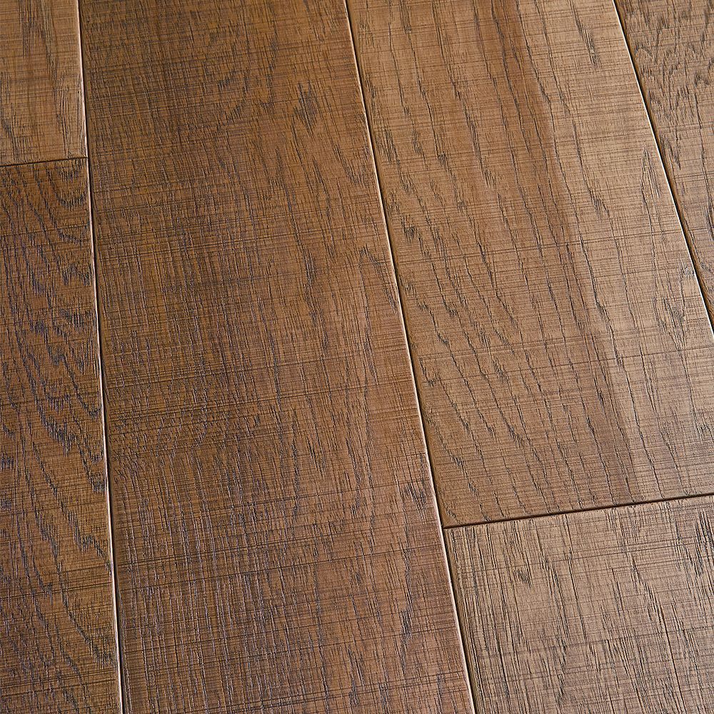 Malibu Wide Plank Hickory Capistrano 1/2-inch x 6 1/2-inch x Varying Length Engineered Hardwood Flooring (20.35 sq.ft/case)