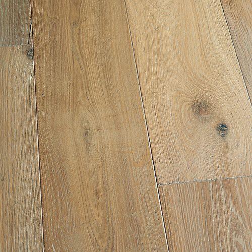 Plancher, bois d'ingénierie, 0,5po x 7,5po x longeurs variées, Chêne français Belmont, 23,32pi2/boîte