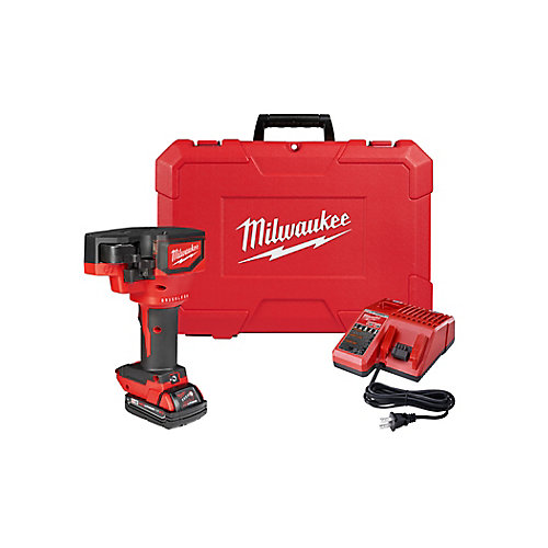 M18 18V Li-Ion Cordless Brushless Threaded Rod Cutter Kit with 2.0 Ah Battery, Charger, Case