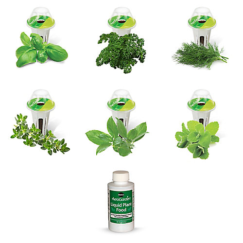 6-Pod, Gourmet Herb Seed Kit