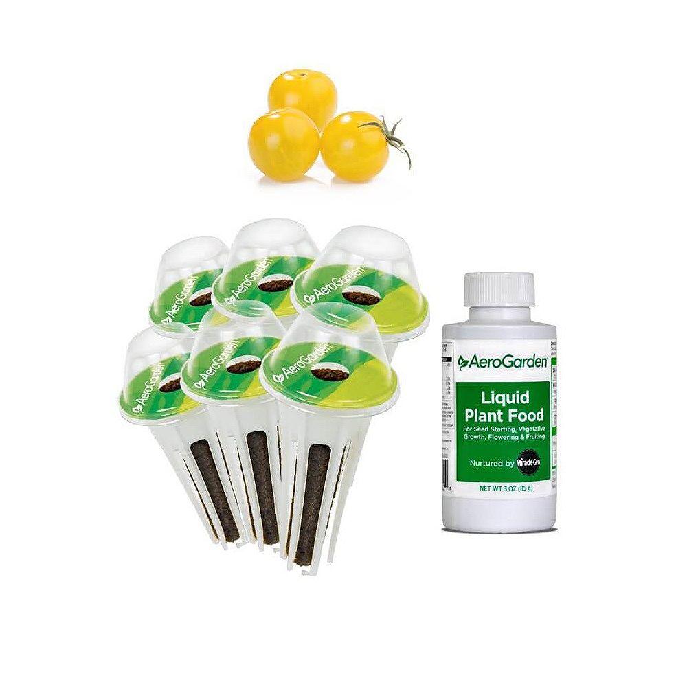 AeroGarden 6-Pod, Cherry Tomato Seed Kit