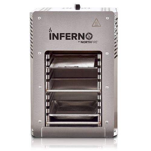 Inferno Single Burner Propane BBQ in Steel